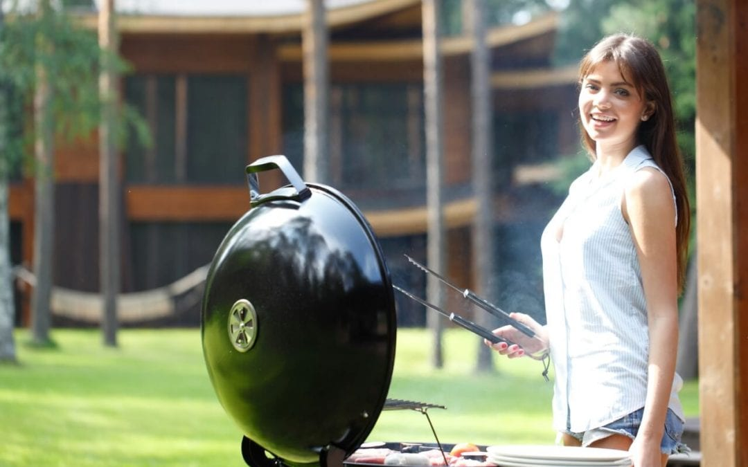 charcoal is one of the most popular types of grills